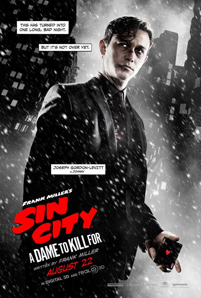 sin-city-a-dame-to-kill-for-3d-charakter-poster-josheph-gordon-levitt