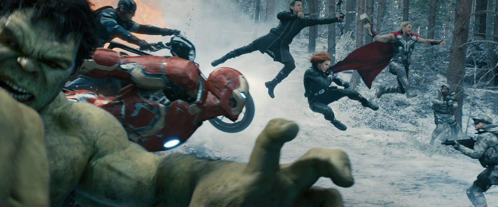 Zum Filbeginn kämpfen die Avengers in Osteuropa