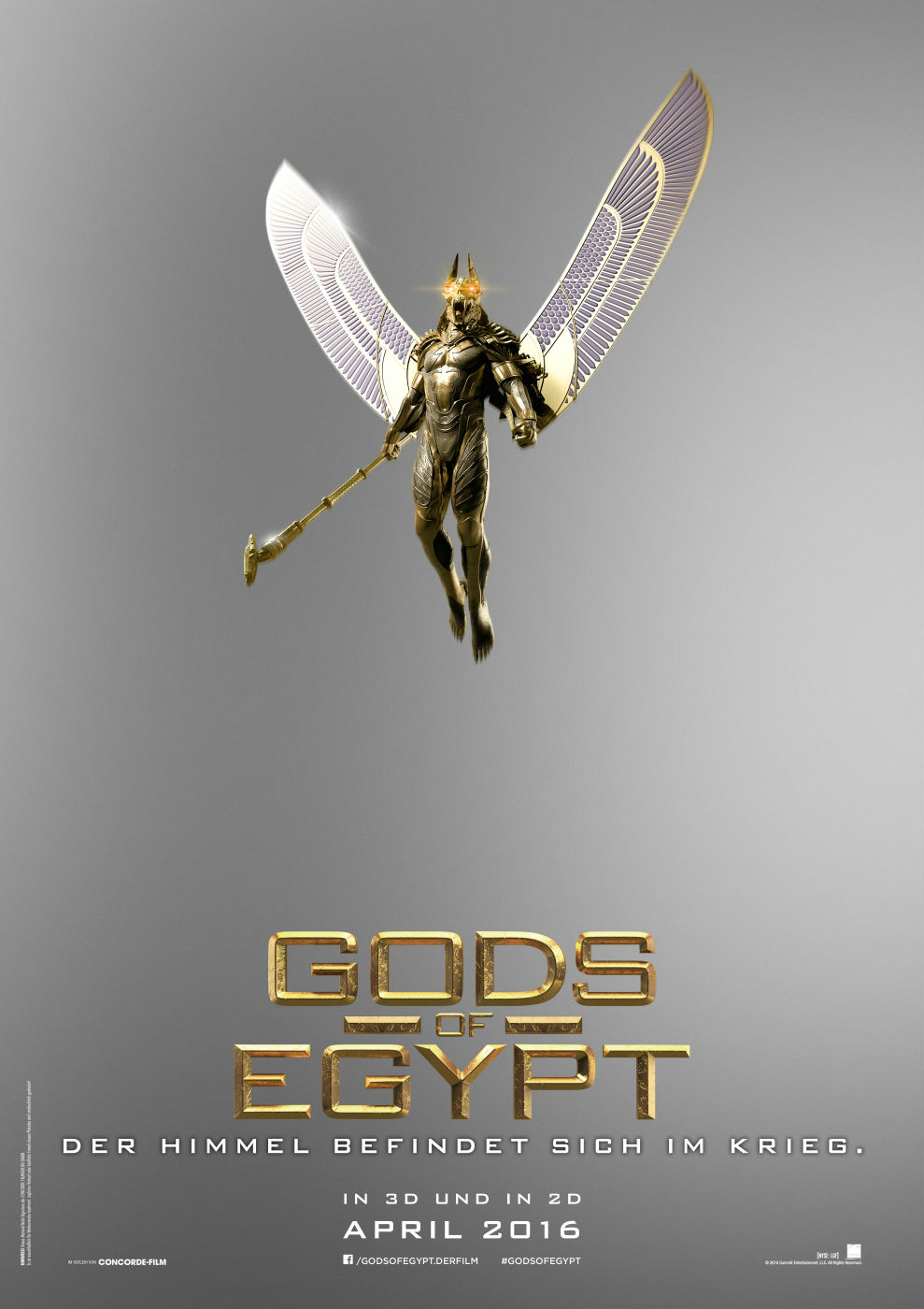 god of egypt deutsch
