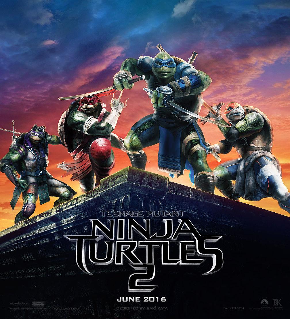Teenage Mutant Ninja Turtles 2 3D – Der erste Trailer, Poster ...