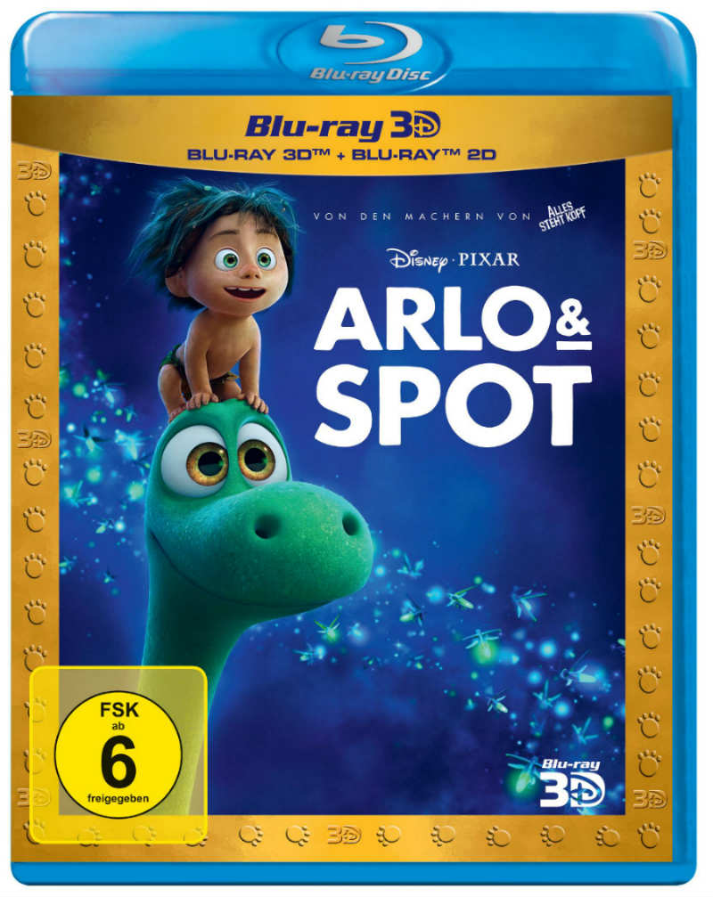 disneys arlo spot 3d trailer und infos zum 3d blu ray start in deutschland 3dfilmfans. Black Bedroom Furniture Sets. Home Design Ideas
