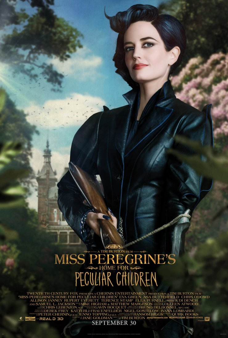 Die-Insel-der-besonderen-Kinder-3D-Charakterposter-Miss-Peregrine-Eva-Green