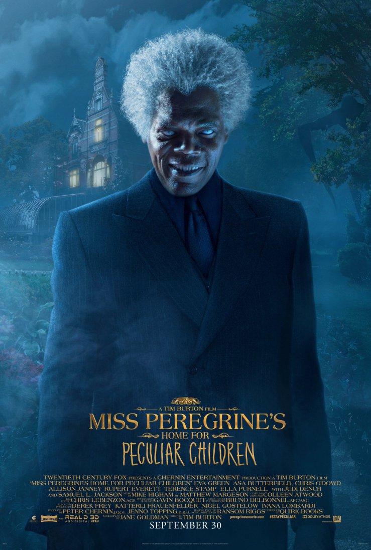 Die-Insel-der-besonderen-Kinder-3D-Charakterposter-Miss-Peregrine-Samuel-L-Jackson