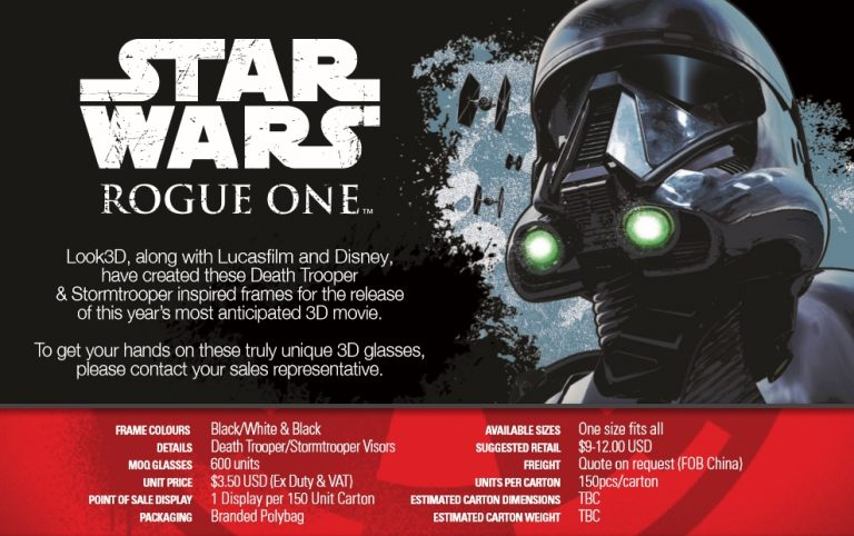 Star-Wars-Rogue-One-3D-limitierte-3D-Brillen-3dglasses-stormtrooper-death-trooper-infos-1